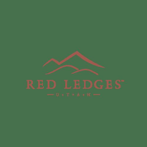 Red Ledges Logo - Transparent Background