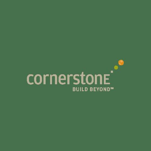 Cornerstone - Building Beyond Logo - Transparent Background
