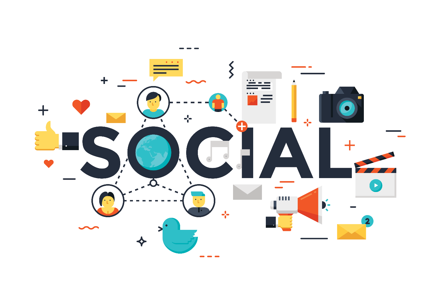 Doing social media and what it means
