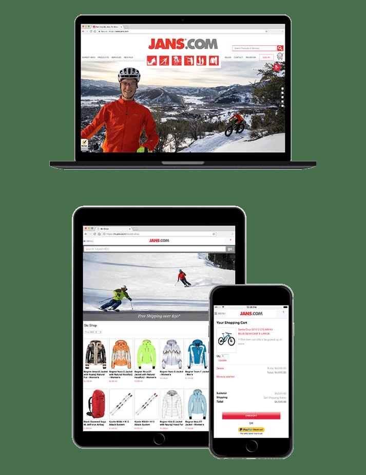jans.com website