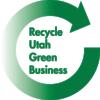 Recycle Utah Green Business Logo