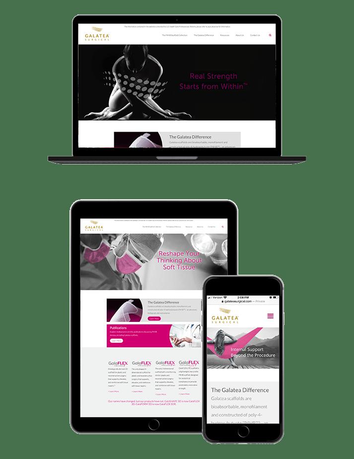 Galatea Surgical Website